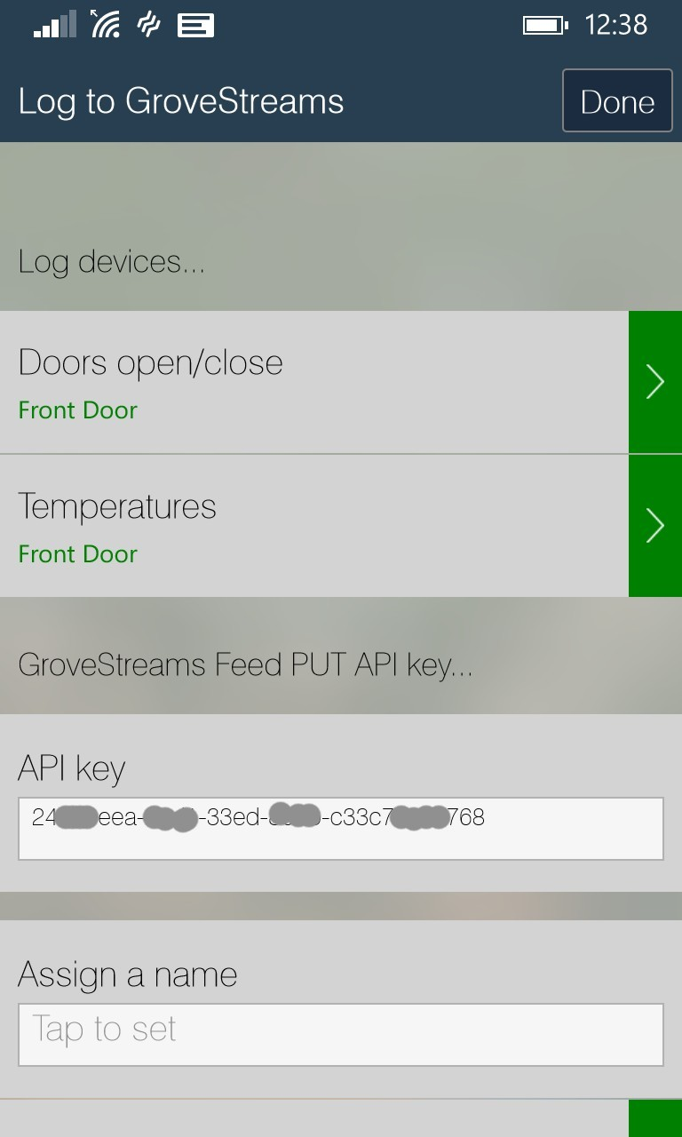 GroveStreams - SmartThings